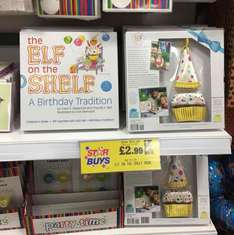 The Elf on the Shelf - a birthday tradition ~ Home Bargains.