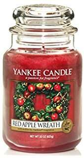 """Yankee Candle Company large jar """"Red Apple Wreath"""" - £12 @ very.co.uk - free delivery with collect+"""