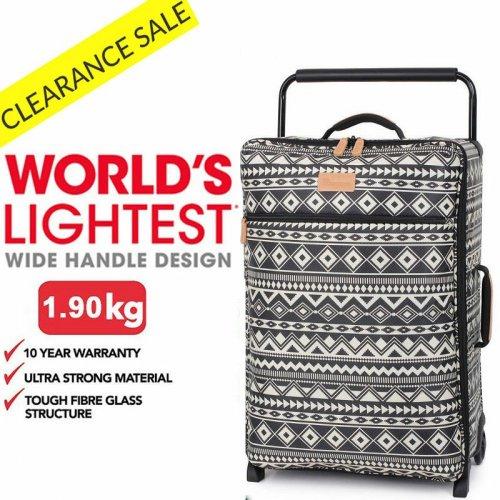 "IT Luggage 24.5"" 2 Wheel Worlds Lightest £24.99 @ Bags Etc"