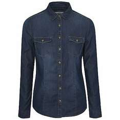 Women's denim look shirt £4 C+C @ Asda George