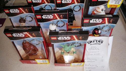 Lego led Star Wars key chains £1.50 at Smyths - Dunedin