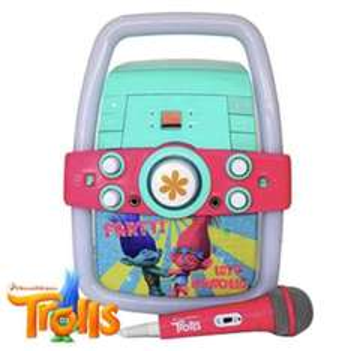 trolls karaoke machine £49.99 @ Home Baragins