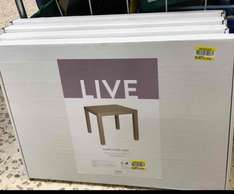 side table reduced to £2 instore at Tesco - highwoods colchester