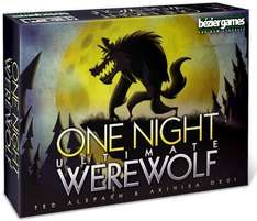 """One Night Ultimate Werewolf"" £13.58 (Prime) Sold by JEAN BARRIERE baby&home and Fulfilled by Amazon."