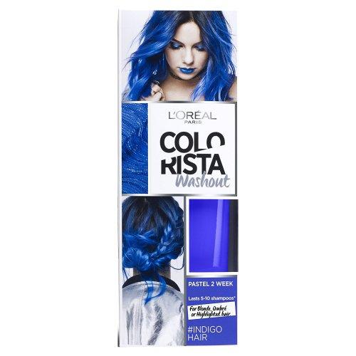 L'Oreal Paris Colorista Washout Indigo Hair Colour 70p @ Amazon (Add on Item)