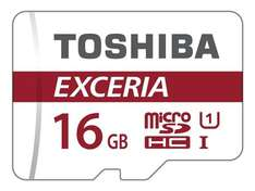 Toshiba Exceria M302 16GB Micro SD Memory Card 90 MB/s 4K £4.97 @ amazon - add on item / minimum £20 Spend