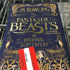 JK Rowlings Fantastic Beasts instore @ Asda Bordesley Green Birmingham now only £3.75