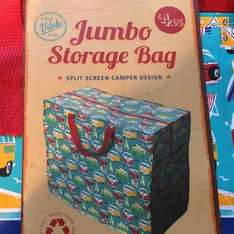 jumbo storage bag only £1.79 @ home bargains lots of style (incl VW Camper