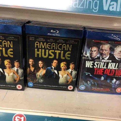 American Hustle Blu Ray - £1 at Poundland