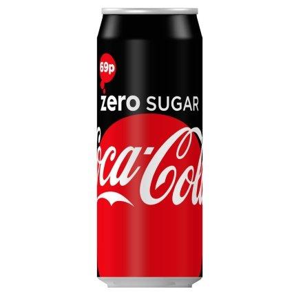 Coke Zero (500ml Can) 39p @ B&M