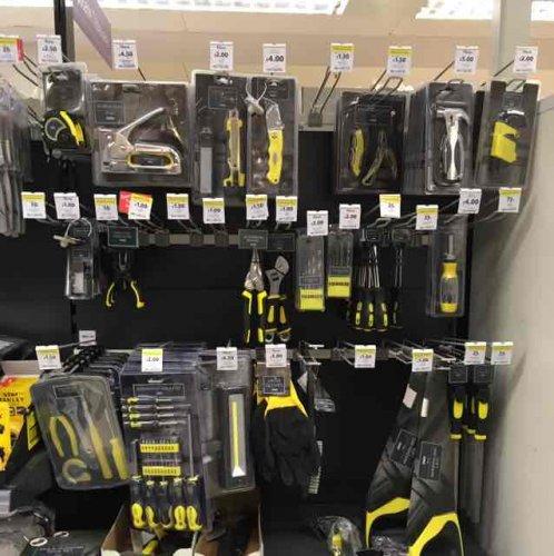 Household Tools from 50p @ Tesco Bursledon