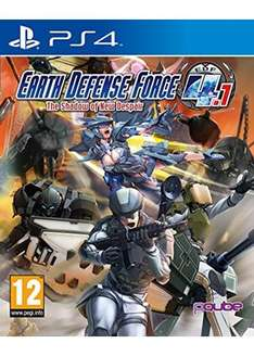Earth Defense Force 4.1: The Shadow of New Despair (PS4) £10.49 Delivered @ Base
