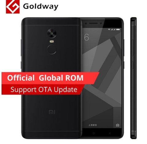 Original Xiaomi Redmi Note 4X 4 X Mobile Phone Snapdragon 625 Octa Core £144 @ Ali express