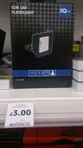 tesco holyhead led flood light £3