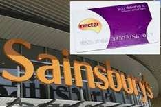 Collect bonus Nectar points on each of your next 10 swipes at Sainsbury's