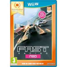 Wii U Fast Racing Neo and all other 11 Selects games £16.98 delivered at Nintendo store with code