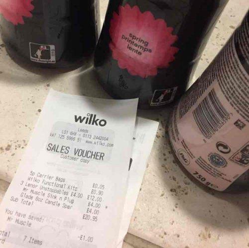 Lenor Unstoppables - 750g for £4 instore at Wilko