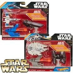 Star Wars Hot Wheels: Blast Attack Star-Ship (Assorted) £2.99 @ Home Bargains
