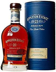 Appleton Estate 21 Years Old Rum, 70 cl £86.04 @ Amazon