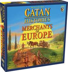 Catan Histories: Merchants of Europe Board Game £18.99 (Prime) / £23.74 (non Prime) @ Amazon.co.uk (CJ-MaX, fulfilled by Amazon)