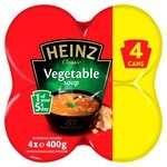 Heinz Classic Vegetable / Cream of Chicken Soup Multi… 4 x 400g  £1.69 @ Morrisons