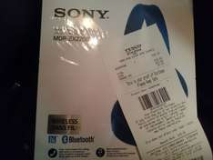 Sony mdr-zx220 Bluetooth headphones blue @ tesco instore £15 (Liverpool)