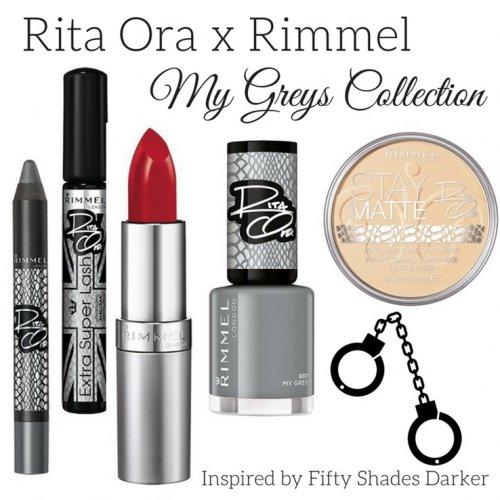 Buy one get second half price on Rimmel Rita Ora My grey collection @ Superdrug