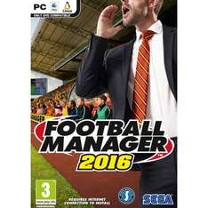 Football Manager 2016 PC - some stock instore @ Smyths Toys - £5