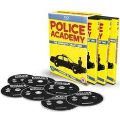 Police Academy Complete 7 Film Blu-Ray Collection £9.99 @ Zavvi