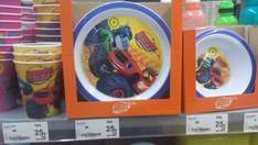 BLAZE, TROLLS & PAW PATROL plates, cups, bowls all reduced to 25p instore at asda