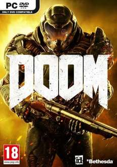 Doom (Steam) £9.49 (Using FB Code) @ CDKeys