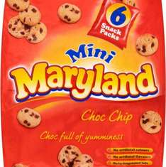 Mini Maryland Cookies - 5 pack @ Iceland - 75p