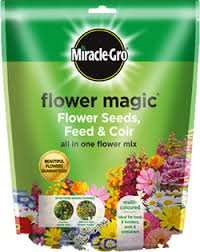 Miracle gro Flower Magic Flower Seeds, Feed & Coir 75p B&Q Bamber Bridge