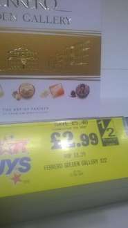 Ferrero Golden Gallery 216g 22 piece assortment £2.99 instore @ home bargains colchester