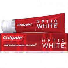 Colgate Optic White Toothpaste 75ml 50p RRP £3.50 @ Poundstretcher