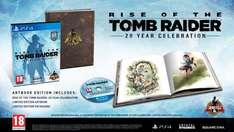 Rise of the Tomb Raider: 20 Year Celebration Artbook Edition - Amazon back down in price PS4 - £24.99 (Prime Exclusive)