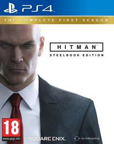 Hitman The Complete First Season Steel Book (PS4 / XBOX One) @ Amazon £29.99