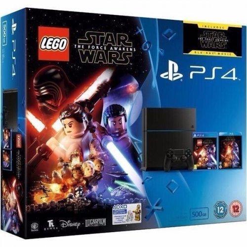 PS4 500gb slim console Lego Star Wars/TFA bundle £189 at Sainsbury's