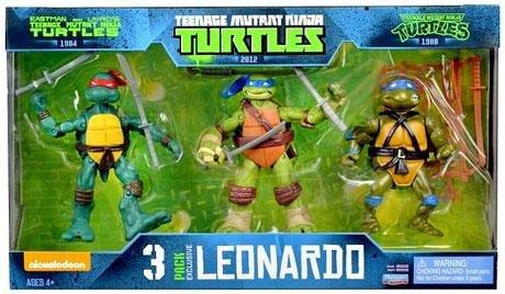 Turtles 3 pack of Leonardo Figures £8 @ Tesco