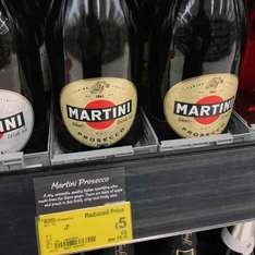 Martini Prosecco £5 at Asda