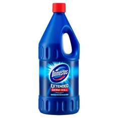 Domestos Extended Germ-Kill Original Bleach, 2L ONLY £1.35 (with voucher) + Del £2.99 @ Amazon Pantry
