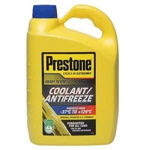 Prestone Antifreeze 4L Ready to Use Mixture 4 Litre Coolant £13.99 @ carpartsaver Ebay (typically £25 elsewhere)