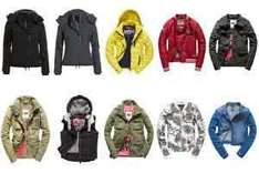 New Women's Superdry Jackets various Styles and Colours £24.99 @ Superdry Ebay ( £5 off wys £30)