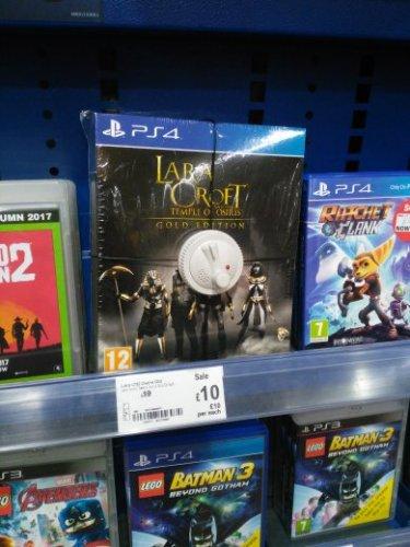 Lara croft and the temple of osiris Gold edition, ps4, Asda - £10 instore