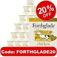"""20% off Forthglade dog/cat food with code """"FORTHGLADE20"""" (Example 36 x 395g Dog food after code = £26.39 Delivered) @ Zooplus"""