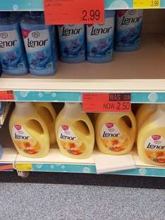 lenor 76 washes £2.49 at b&m store