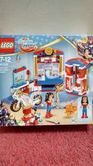 Lego DC Super Hero Girls 41235 wonder woman dorm, was £20 now £10 instore at Sainsbury's - may other sets also reduced to half price including batman bike and more