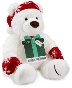 Amazon £100.00 Gift Card delivered - with Limited Edition  Teddy Bear @ Amazon