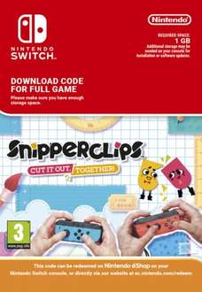 Snipperclips: cut it out for Nintendo Switch Download £18.85 @ ShopTo