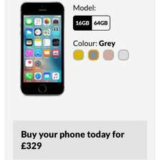 iphone SE Reduced £329 on giffgaff